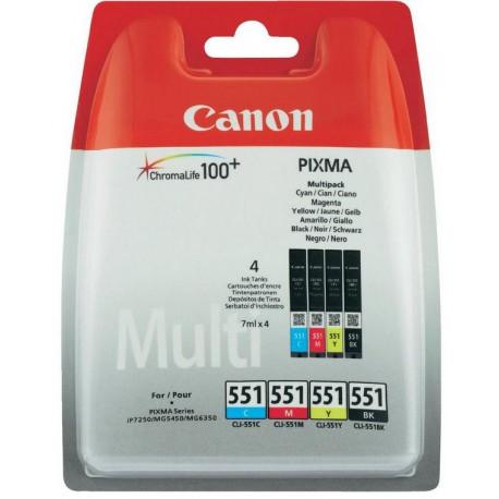 Canon CLI-551 C M Y BK Multipack