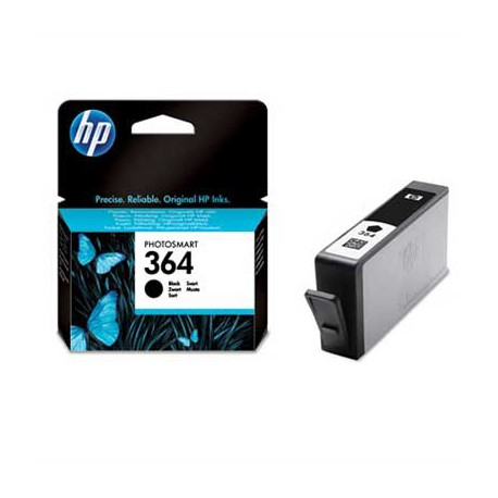 HP 364 Black Ink cart vivera ink