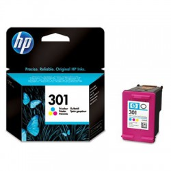 HP 301 ink color