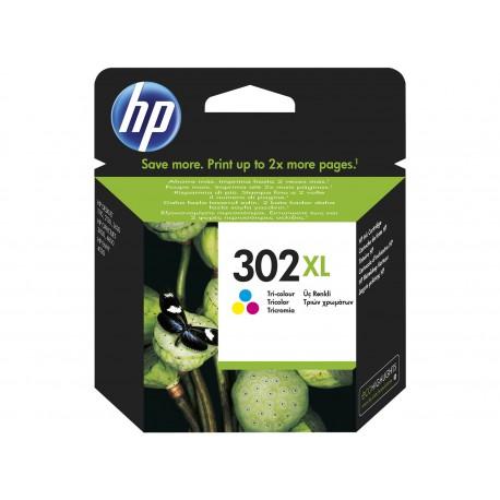 HP 302XL - farve original - blækpatron