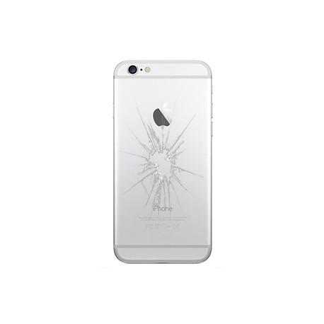 iPhone 6 Bagcover Reparation Sølv
