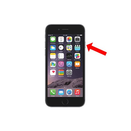 iPhone 6 Plus Standby knap reparation OE