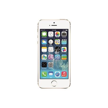 iPhone 5S Glas reparation Hvid, OEM