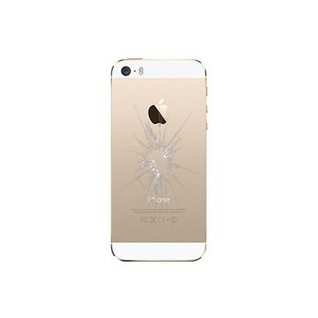 iPhone 5S Bagcover Reparation Guld, OEM
