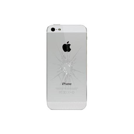 iPhone 5 Bagcover Reparation Hvid