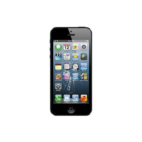 iPhone 5 Glas reparation Sort, OEM