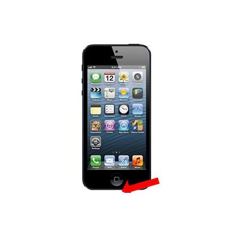 iPhone 5 Ladestik reparation Sort