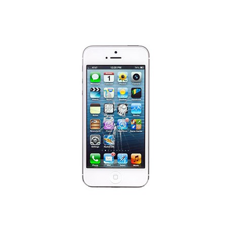 iPhone 5 Glas reparation Hvid, OEM