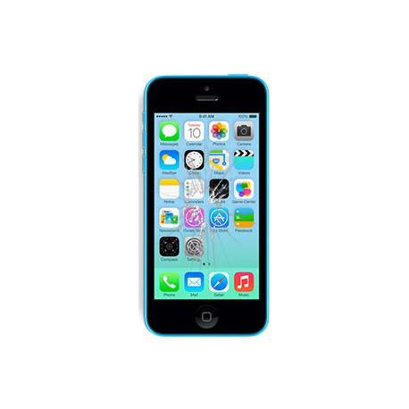 iPhone 5C Glas reparation, OEM