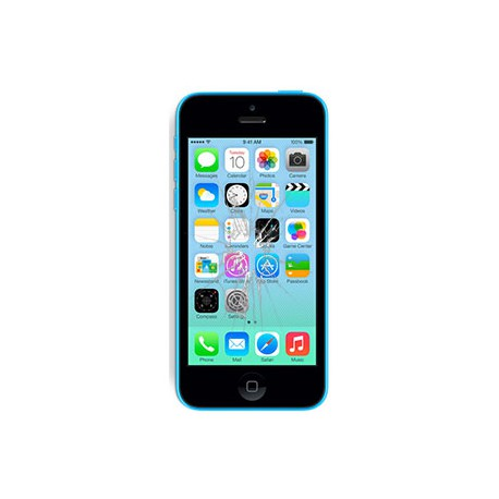 iPhone 5C Glas reparation, BG