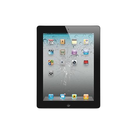 iPad 3/4 Glas reparation Sort, OEM