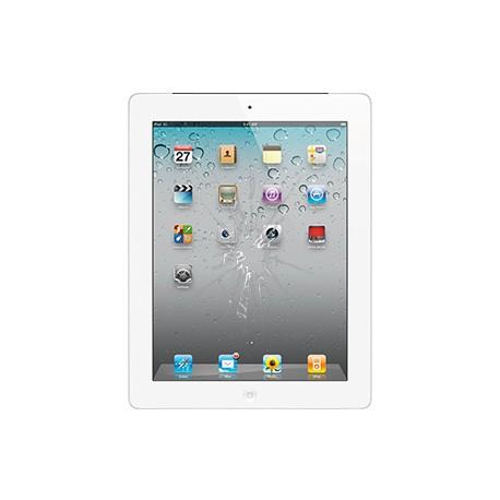 iPad 3/4 Glas reparation Hvid, OEM