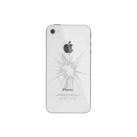 iPhone 4S Bagcover reparation Hvid