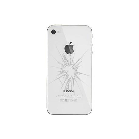 iPhone 4 Bagcover reparation Hvid