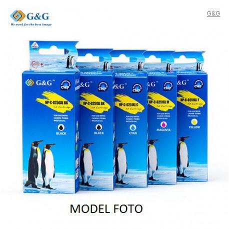G&G Canon PGI520/521 Sampak BK*2/C/M/Y
