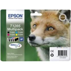 Epson T1285 Multipack, S/C/M/Y