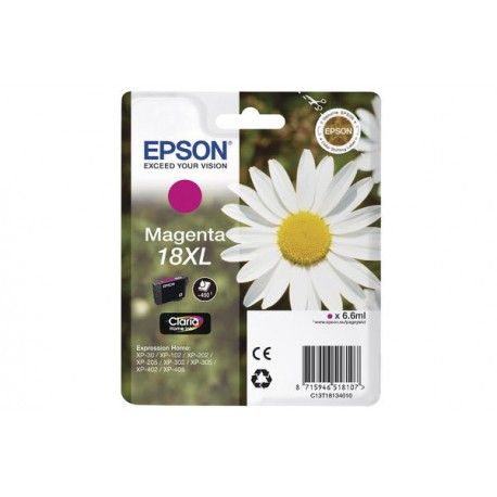 EPSON 1-PACK Magenta 18XL CLARIA HOME IN