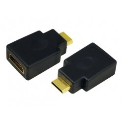 Logilink HDMI 19-Pin A-HDMI Mini Adapter