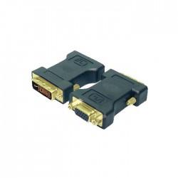 Logilink adapter DVI/VGA han hun