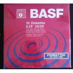 BASF 5,25 disketter 10 stk.