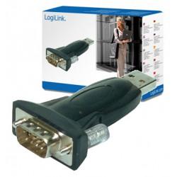 LogiLink USB2.0 til Seriel adapter