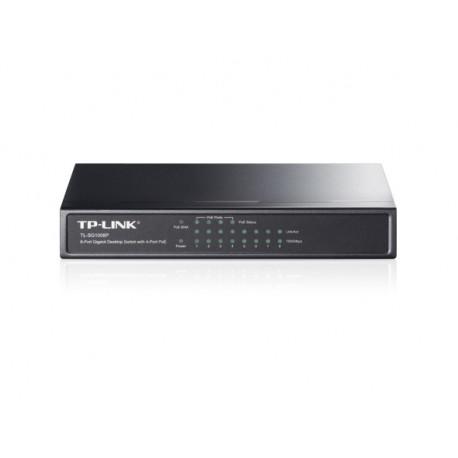 TP-Link 8 port gigabit switch, 4port PoE