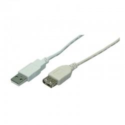 Logilink USB 2.0 Forlænger 2m