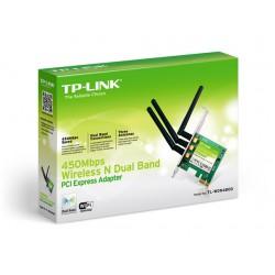 TP-LINK 450Mbps Dual B WLAN N PCIE Adptr