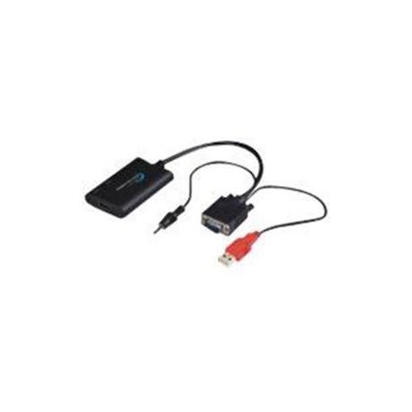 MicroConnect 0,3m HDMI to VGA Converter