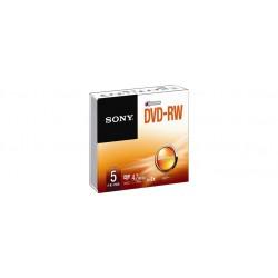 SONY 5DMW47SS Pack DVD-RW 4.7GB 5x pack