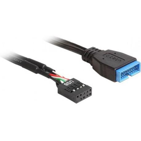 DeLOCK - USB intern adapter - 19 pin US