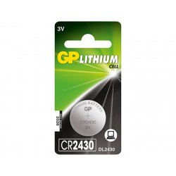 GP Batteries LITHIUM BUTTON CELL CR2430