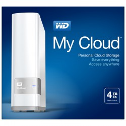 WD My Cloud 4TB NAS Personal Cloud Stora