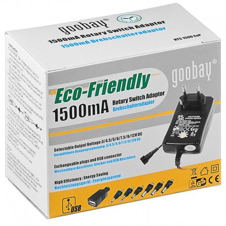 Goobay Universal Power Adapter 3-12V 240