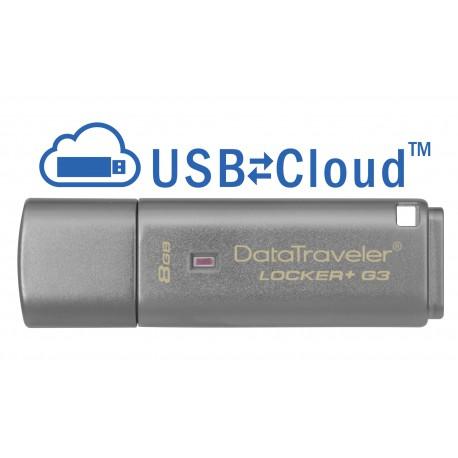 KINGSTON 8GB USB 3.0 DT Locker+ G3 w Aut