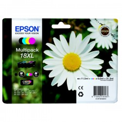 Epson 18XL 4 pakker Størrelse XL