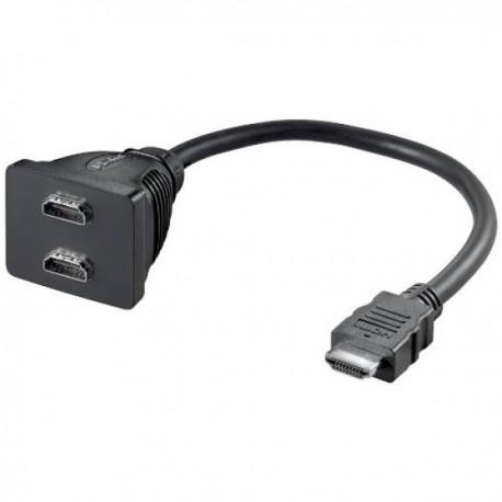 HDMI Fordeler 1X HDMI Han 2X HDMI Hun