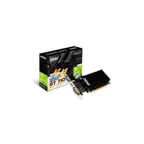 MSI GeForce GT710 2GB Low Profile Silent
