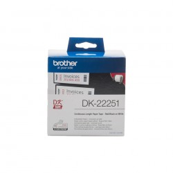 BROTHER DK22251 Continuous Tape 62mm Bla