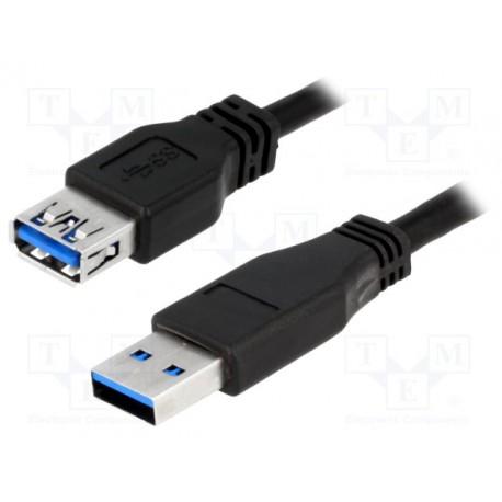 Logilink USB 3.0 2M Forlænger M/F