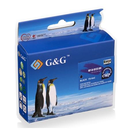 G&G Kompatibel Blæk Brother LC123XL BK