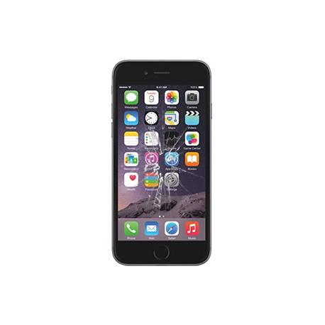 iPhone 7 Plus Glas Rep. Sort, BG-OEM