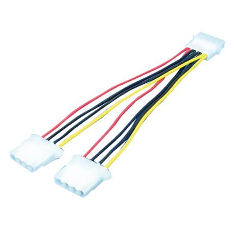 """LogiLink Power kabel, 5,25"""" 0,20m"""