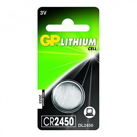 GP CR2450 batteri, DL2450 1 stk.