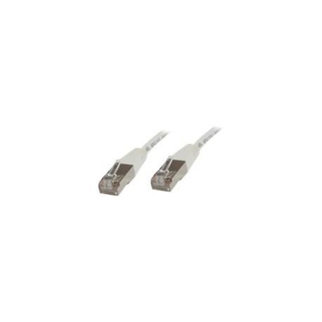MicroConnect STP/UTP CAT6 0,5m hvid