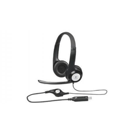 LOGITECH H390 USB Headset black