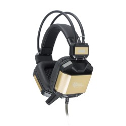 White Shark Headset JAGUAR Sort/Guld