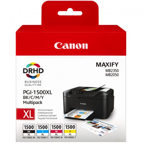 CANON PGI-1500XL BK C M Y Multipack