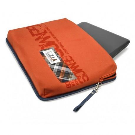 Golla Boston laptop sleeve, orange, 16''