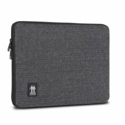 Walk on water laptop skin fishbone grey